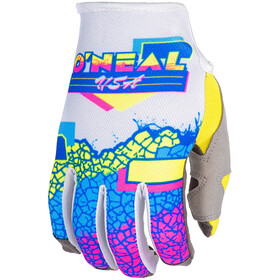 O'Neal Mayhem Handschuhe Crackle yellow/white/blue
